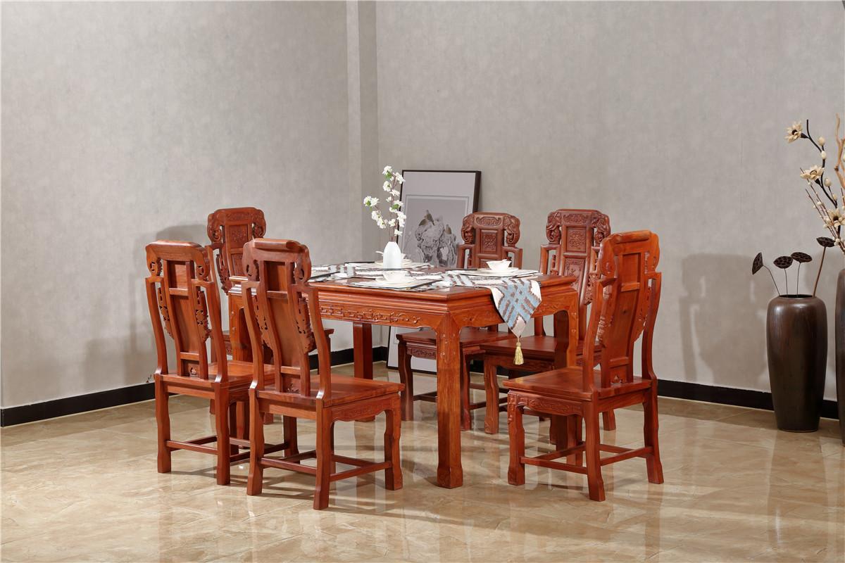 明式象頭餐桌