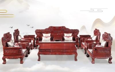 红酸枝宝马沙发