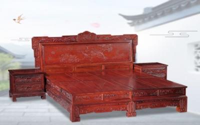 红酸枝汉宫大床