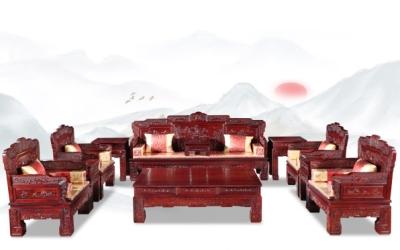 红酸枝汉宫沙发