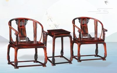 大红酸枝皇宫椅