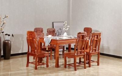 明式象头餐桌